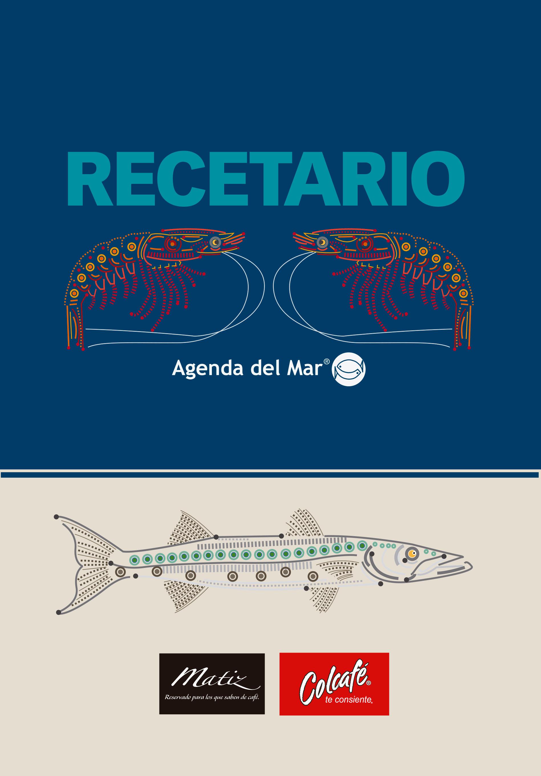 Recetario Agenda del Mar 2015