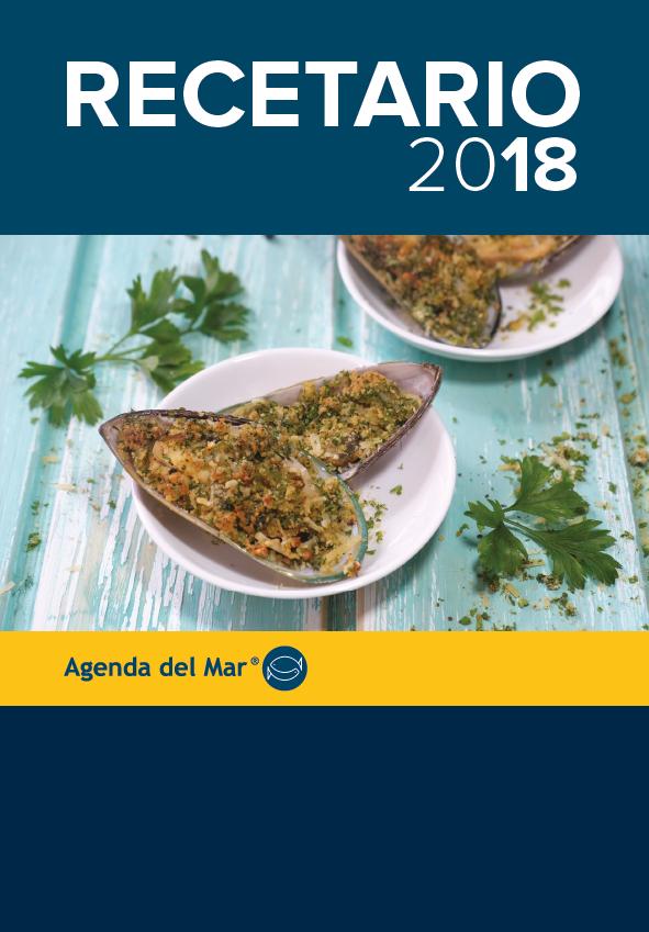 Recetario Agenda del Mar 2018