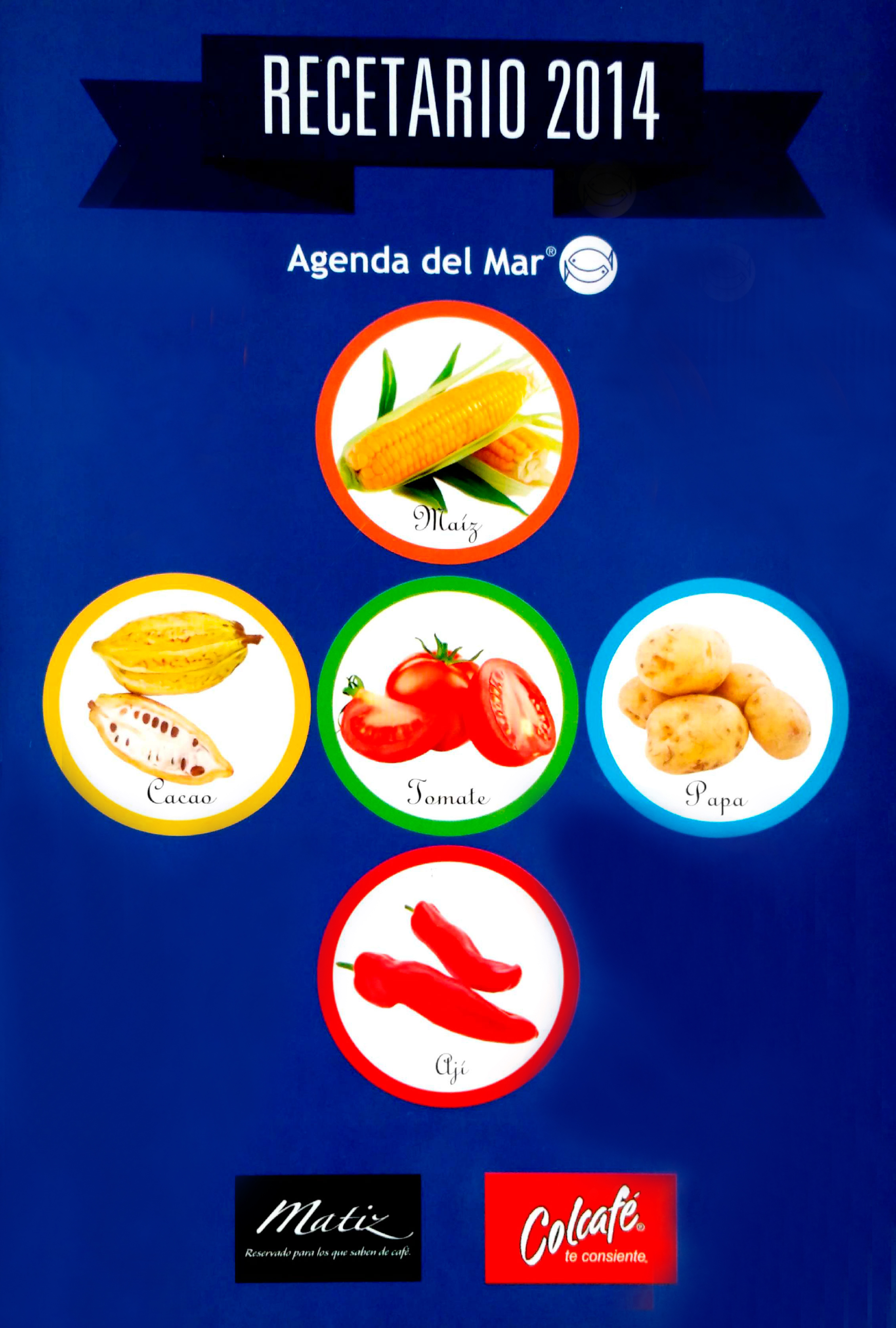 Recetario Agenda del Mar 2014